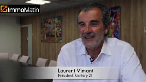 3 min avec Laurent Vimont, président de Century 21