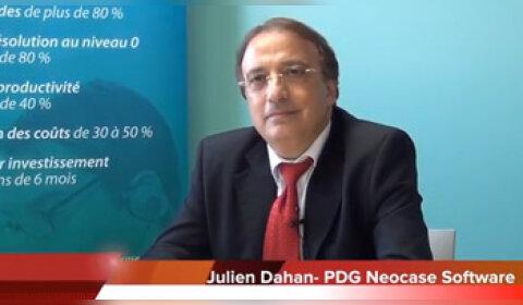 4 min 30 avec Julien Dahan, PDG de Neocase software