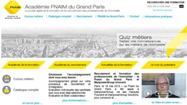 La FNAIM Grand Paris prend le virage digital avec le lancement d'une plateforme de formation