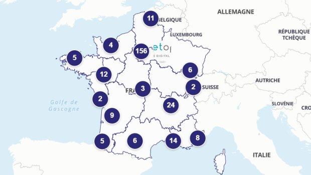 EdTech France lance sa cartographie interactive des entreprises de la filière