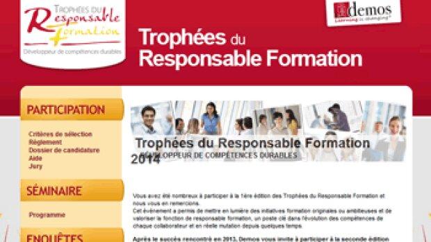 Trophées du responsable formation: à vos candidatures!