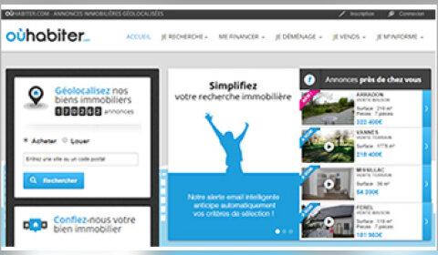 OùHabiter.com : ce nouveau portail gratuit fait le pari de la géolocalisation