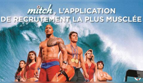 Mitch surfe sur la vague des applications de recrutement