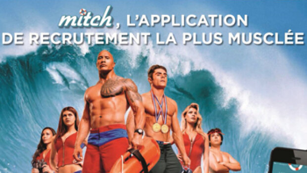 Mitch surfe sur la vague des applications de recrutement