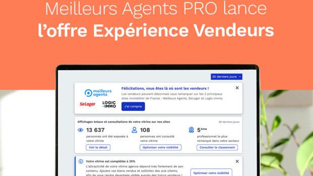Expérience Vendeurs : la nouvelle offre de prospection digitale de Meilleurs Agents