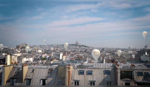 Opération séduction de Bien'Ici sur les toits de Paris