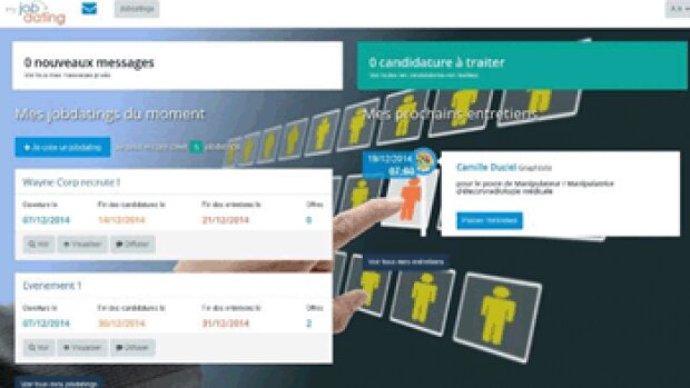 JobinLive lance une plateforme web de jobdating