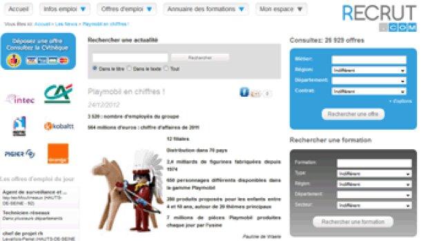 """""""Nous sommes en position de combat"""" Jean Pacra, PDG de Recrut.com"""