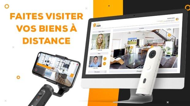 Comment faire visiter vos biens à vos clients en période de confinement ?