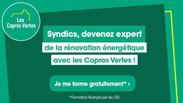 Avec les Copros Vertes, les syndics deviennent experts de la rénovation énergétique