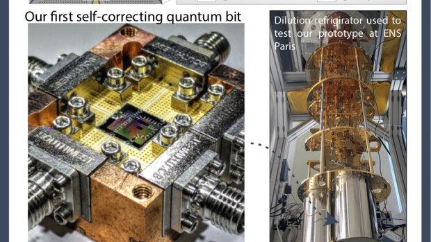 Alice & Bob ou la course vers l'ordinateur quantique !