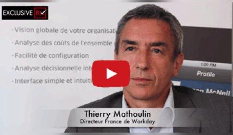 3 min avec Thierry Mathoulin, Directeur France de Workday