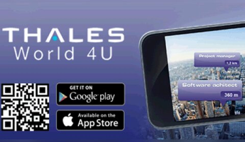 Thales dévoile son application mobile
