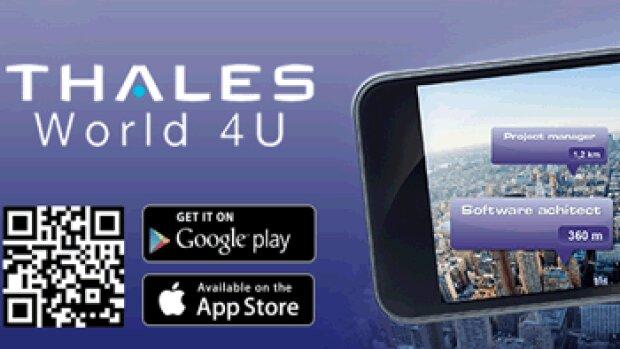 """Thales dévoile son application mobile """"carrières"""" en réalité augmentée"""