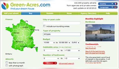 Green-Acres.com mise sur le sponsoring d'émission pour accroître sa notoriété