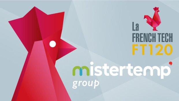 Mistertemp' group lauréat de la première promotion du French Tech 120