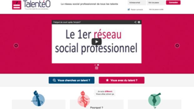 Talentéo lance un réseau social alliant handicap et emploi