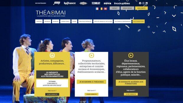 Spectacle vivant : Théaomai, la plateforme de mise en relation entre compagnies et programmateurs