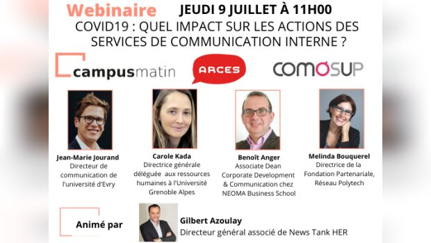 [Participez !] Covid19 : quels impacts sur les actions des services de communication interne ?