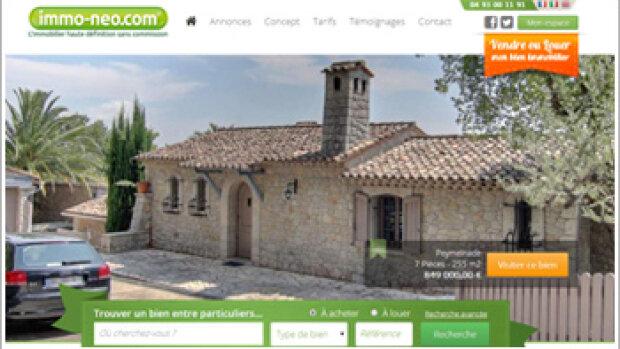 Le site immobilier entre particuliers immo-neo.com se développe en franchise