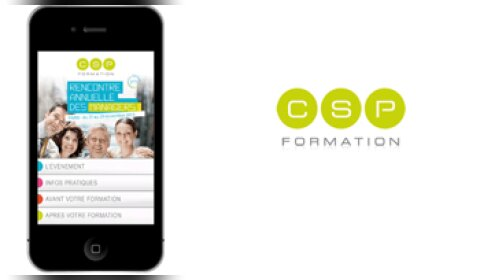 CSP Formation lance l'application