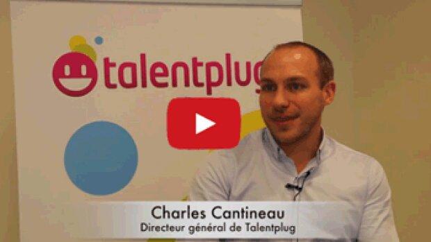 4 min 30 avec Charles Cantineau, directeur général de Talentplug