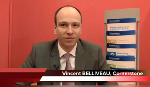 4 min 30 avec Vincent Belliveau, directeur général Europe de Cornerstone Ondemand