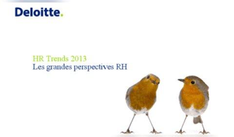 Etude Deloitte: les cinq tendances RH à retenir