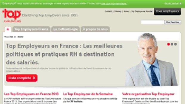 """44 entreprises labélisées """"top employeurs 2013"""""""