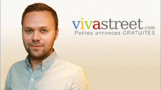 """""""Nous générons déjà 800000 candidatures par mois"""" Julien André, Vivastreet"""