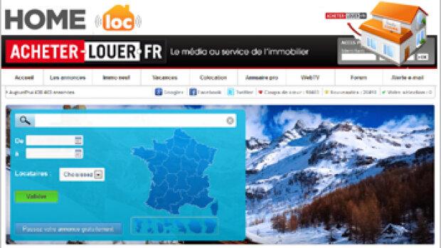 Acheter-Louer.fr se lance dans la location saisonnière avec Homeloc