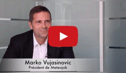 4 min 30 avec Marko Vujasinovic, président de Meteojob