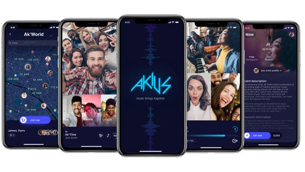 Akius, une application pour optimiser l'interactivité des concerts en ligne