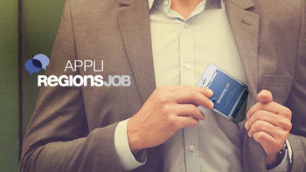 Les trois nouveautés de l'application mobile de RegionsJob