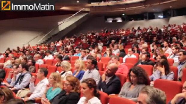 Vidéo : 520 professionnels réunis par SeLoger à Paris
