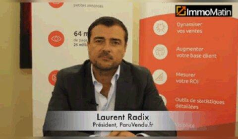 3 min avec Laurent Radix, président de ParuVendu.fr