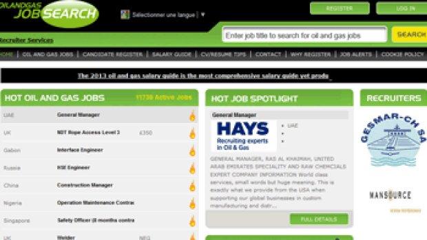 CareerBuilder a fait l'acquisition de Oil and Gas Job Search
