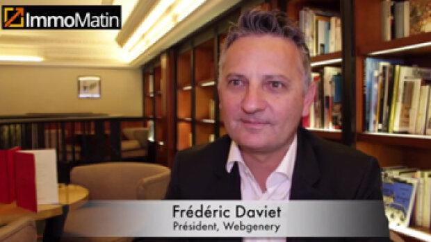 3 min avec Frédéric Daviet, Président de Webgenery