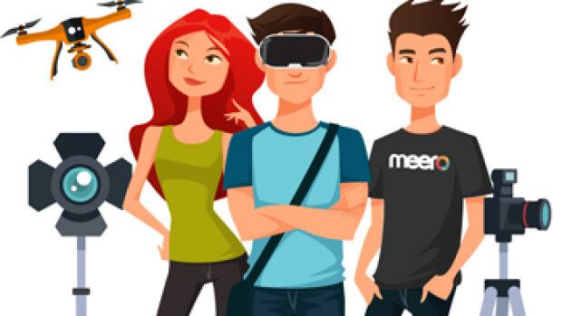 Après la vidéo, Meero s'attaque à la visite virtuelle