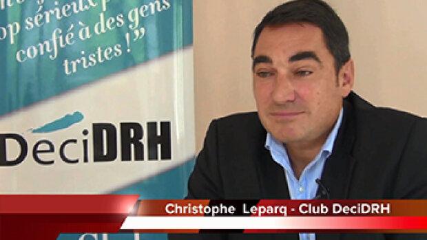 Vidéo - 4 min 30 avec Christophe Leparq, Fondateur du Club DéciDRH