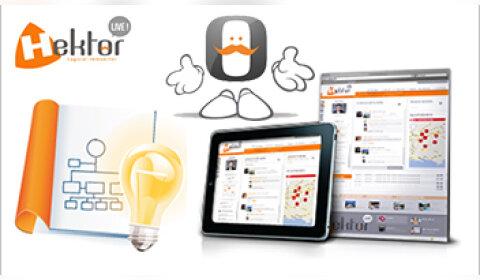 Hektor Live propose un réseau social interne