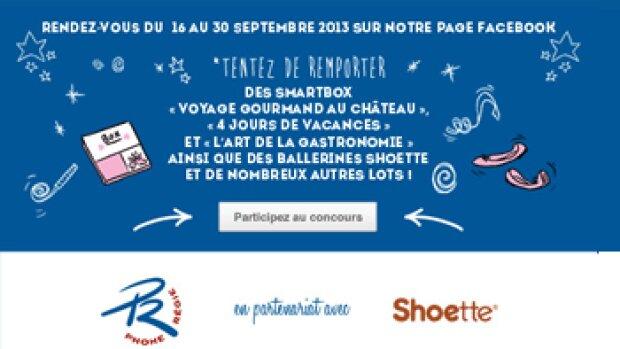 Phone Régie lance un concours photo sur Facebook