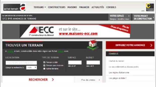Le site d'annonces Achat-terrain.com fait peau neuve