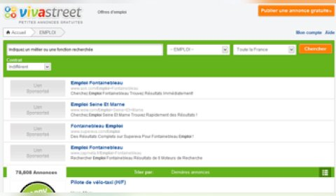 Vivastreet partenaire de Pôle emploi et de Facebook