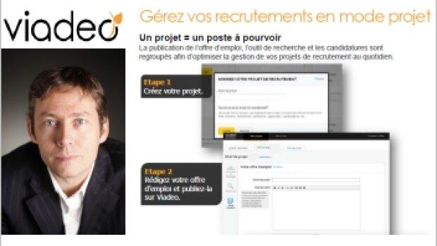 """""""Je ne suis pas certain que Facebook soit une menacepour nous"""" Olivier Fécherolle, DG France de Viadeo"""