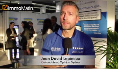 3 min avec Jean-David Lepineux, co-fondateur, Opinion System