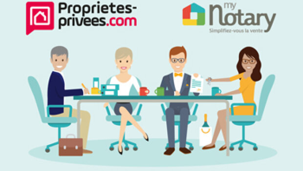 Grâce à MyNotary, Proprietes-privees.com dématérialise le compromis de vente