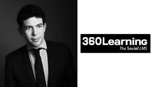 """""""Notre plate-forme LMS multiplie les interactions entre les formateurs et les apprenants"""", Nicolas Hernandez, 360Learning"""