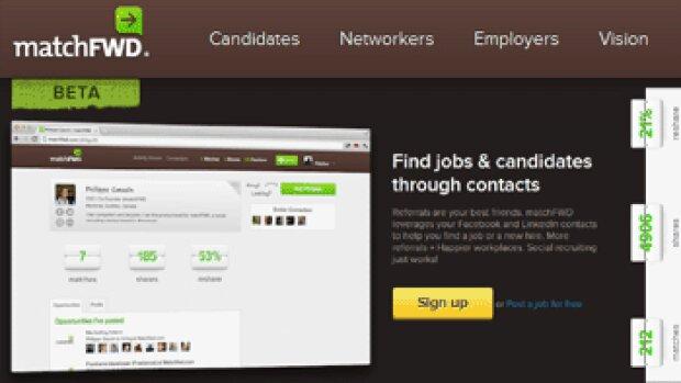 MatchFWD : une nouvelle application pour faciliter la cooptation sur les réseaux sociaux