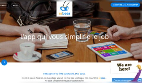 L'application Ezbeez invente le bouton